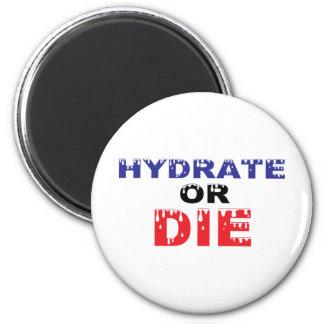 El hidrato o muere imán de nevera