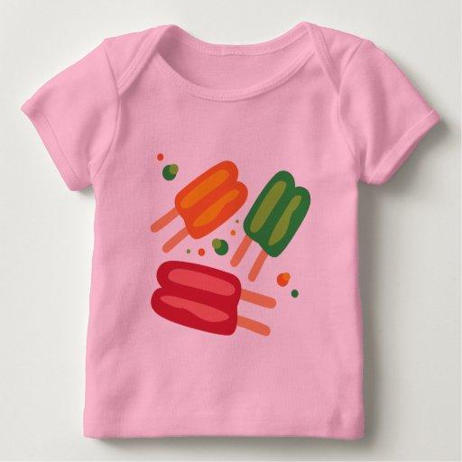 El hielo hace estallar la camiseta infantil