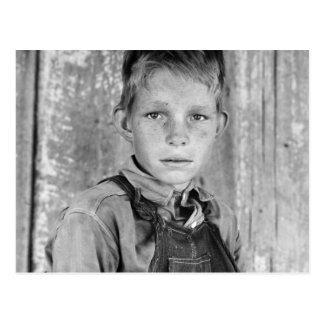El hijo del aparcero - 1937 tarjeta postal