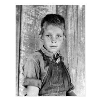 El hijo del aparcero - 1937 postales