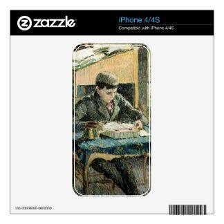 El hijo del artista, 1893 (aceite en lona) calcomanías para iPhone 4