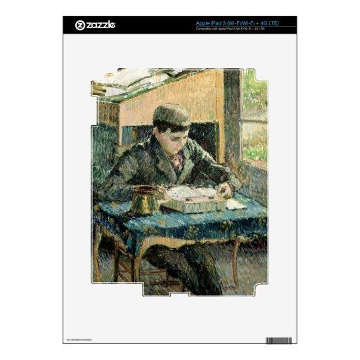 El hijo del artista, 1893 (aceite en lona) iPad 3 skin