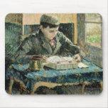 El hijo del artista, 1893 (aceite en lona) tapete de ratones