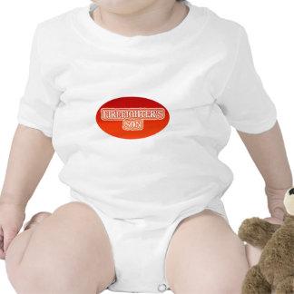 El hijo del bombero traje de bebé