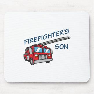El hijo del bombero mouse pad