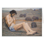 El hijo despilfarrador, C. 1879 (aceite en el lino Felicitaciones