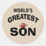 El hijo más grande del mundo etiquetas