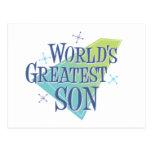 El hijo más grande del mundo postal