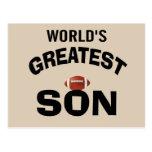 El hijo más grande del mundo postales