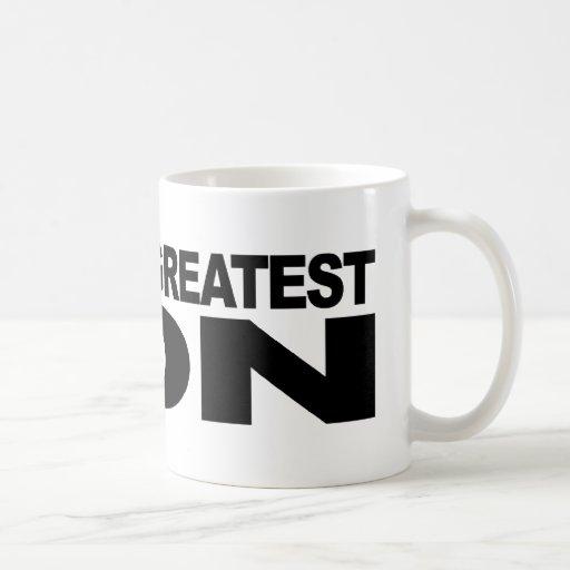 El hijo más grande del mundo taza de café