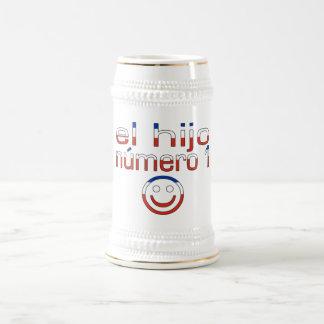 El Hijo Número 1 - Number 1 Son in Chilean 18 Oz Beer Stein