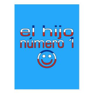 El Hijo Número 1 - Number 1 Son in Chilean Postcard