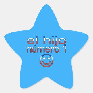 El Hijo Número 1 - Number 1 Son in Chilean Star Sticker