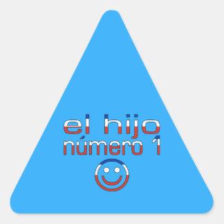 El Hijo Número 1 - Number 1 Son in Chilean Triangle Sticker