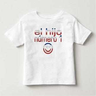 El Hijo Número 1 - Number 1 Son in Chilean Toddler T-shirt