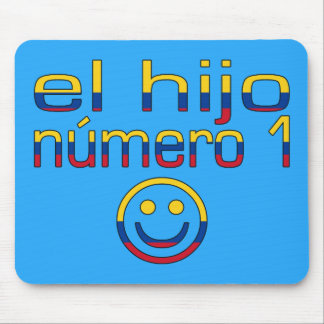 El Hijo Número 1 - Number 1 Son in Colombian Mouse Pad