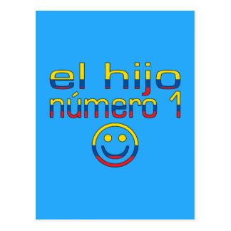 El Hijo Número 1 - Number 1 Son in Ecuadorian Postcard