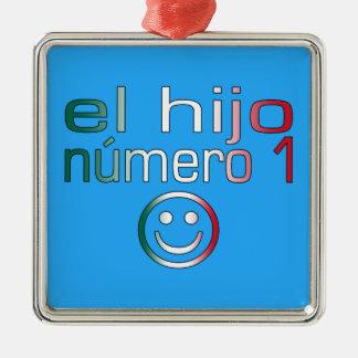 El Hijo Número 1 - Number 1 Son in Mexican Christmas Tree Ornaments