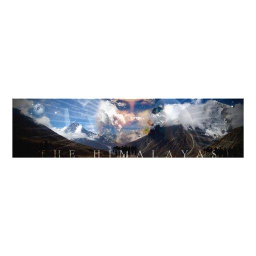 El Himalaya - impresión de la foto