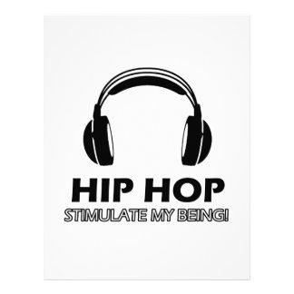el hip-hop me estimula membrete