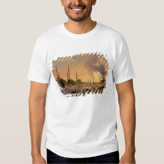 El hipódromo en Constantinopla (aceite en lona) Camisas