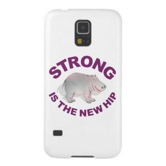 El hipopótamo, fuerte es la nueva cadera carcasas para galaxy s5