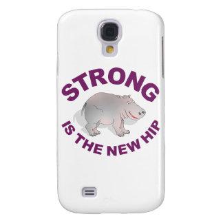 El hipopótamo, fuerte es la nueva cadera funda para galaxy s4