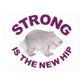 El hipopótamo, fuerte es la nueva cadera postal