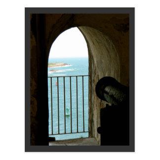EL histórico Morro, Puerto Rico del castillo Tarjetas Postales