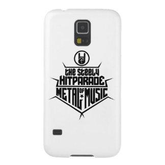 El Hitparade inflexible de la música 2 (negro) del Carcasas Para Galaxy S5