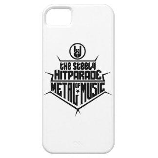 El Hitparade inflexible de la música 2 (negro) del iPhone 5 Cárcasa
