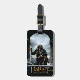 El Hobbit - cartel de película de BILBO BAGGINS™ Etiquetas Para Maletas