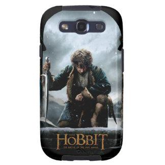 El Hobbit - cartel de película de BILBO BAGGINS™ Galaxy S3 Cobertura