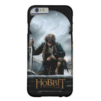 El Hobbit - cartel de película de BILBO BAGGINS™ Funda De iPhone 6 Barely There
