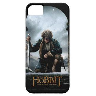 El Hobbit - cartel de película de BILBO BAGGINS™ iPhone 5 Fundas