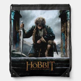 El Hobbit - cartel de película de BILBO BAGGINS™ Mochilas