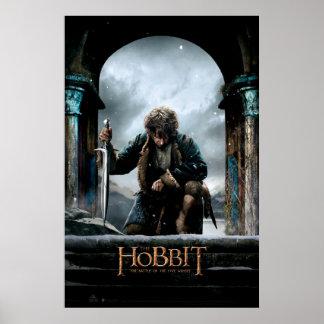 El Hobbit - cartel de película de BILBO BAGGINS™ Póster