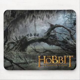 El Hobbit: Desolación del arte 3 del concepto de S Tapete De Raton
