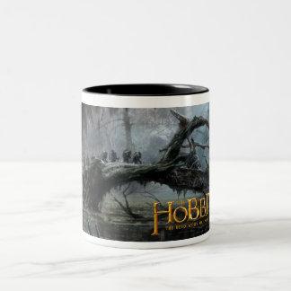 El Hobbit: Desolación del arte 3 del concepto de Taza De Dos Tonos