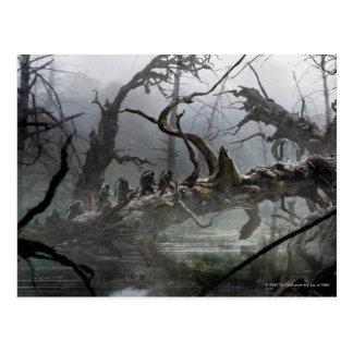 El Hobbit: Desolación del arte 4 del concepto de Tarjeta Postal