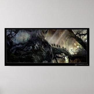 El Hobbit: Desolación del arte del concepto de Sma Póster