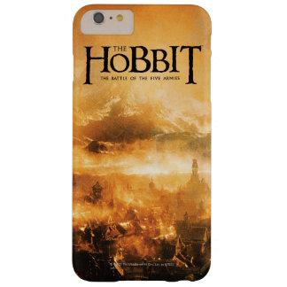 El Hobbit: La BATALLA del logotipo de CINCO Funda De iPhone 6 Plus Barely There