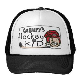 El hockey de Grampy Gorros Bordados