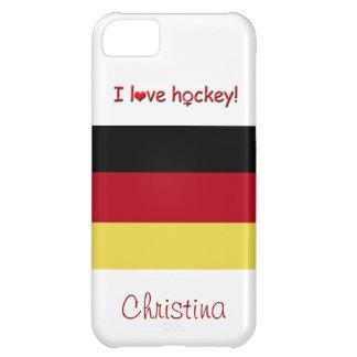 ¡El hockey de las mujeres! - Bandera Carcasa Para iPhone 5C