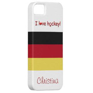 ¡El hockey de las mujeres! - Bandera Funda Para iPhone SE/5/5s