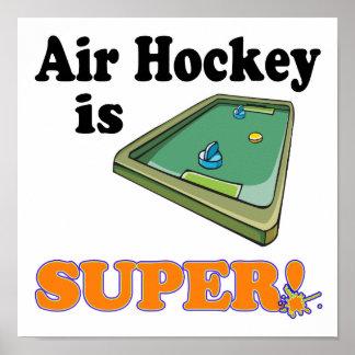 el hockey del aire es estupendo póster