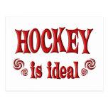 El hockey es ideal postal
