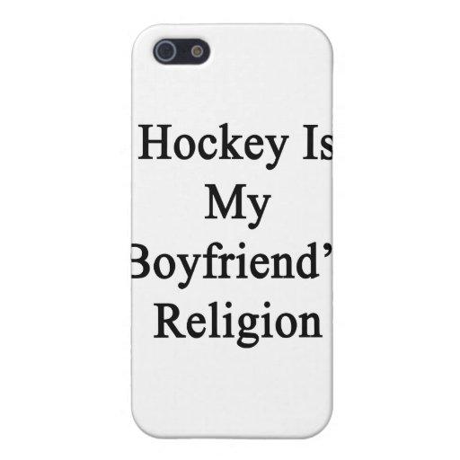 El hockey es la religión de mi novio iPhone 5 protector