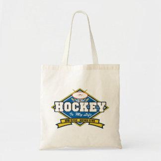 El hockey es mi vida bolsas de mano