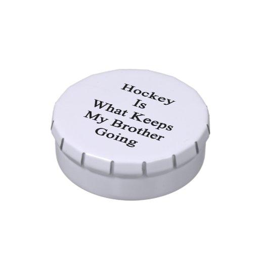 El hockey es qué guarda mi ir de Brother Latas De Caramelos